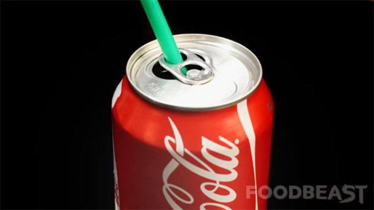 coca cola popote manera fácil