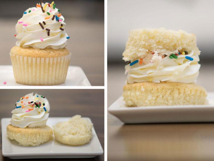 cpcake manera fácil de comer
