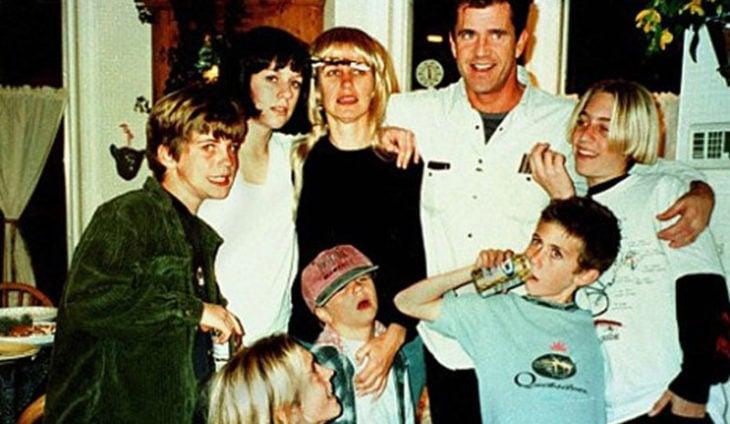 Mel Gibson hijos