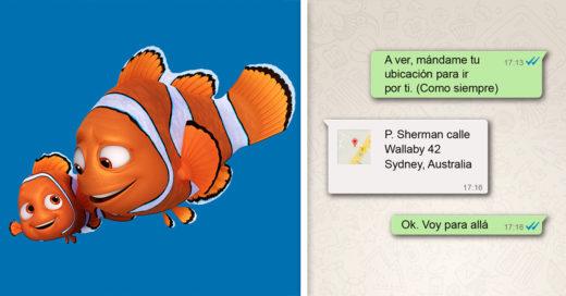 Cover Conversaciones de tus personajes favoritos de Disney si tuvieran WhatsApp