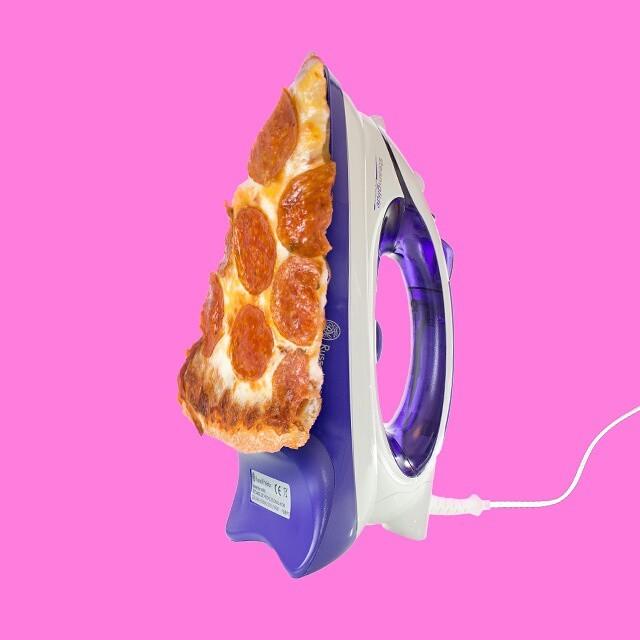 Plancha de pizza