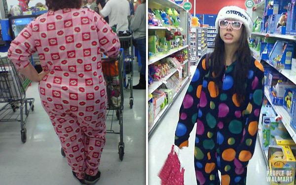 chicas en pijamas