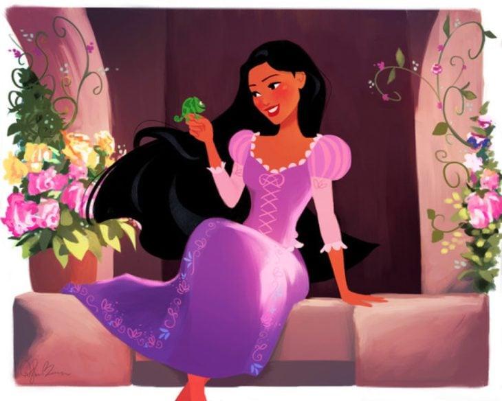 enredados princesa pocahontas