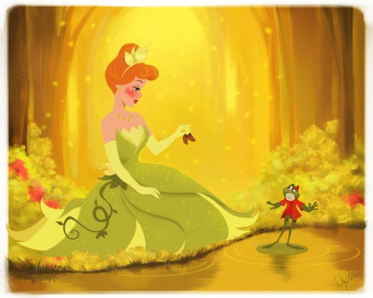 cenicienta la princesa y el sapo