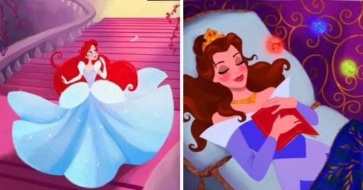 Cover Las princesas Disney cambian de cuento
