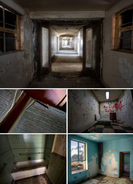 hospital linda vista fue usado para la película el fin de los días