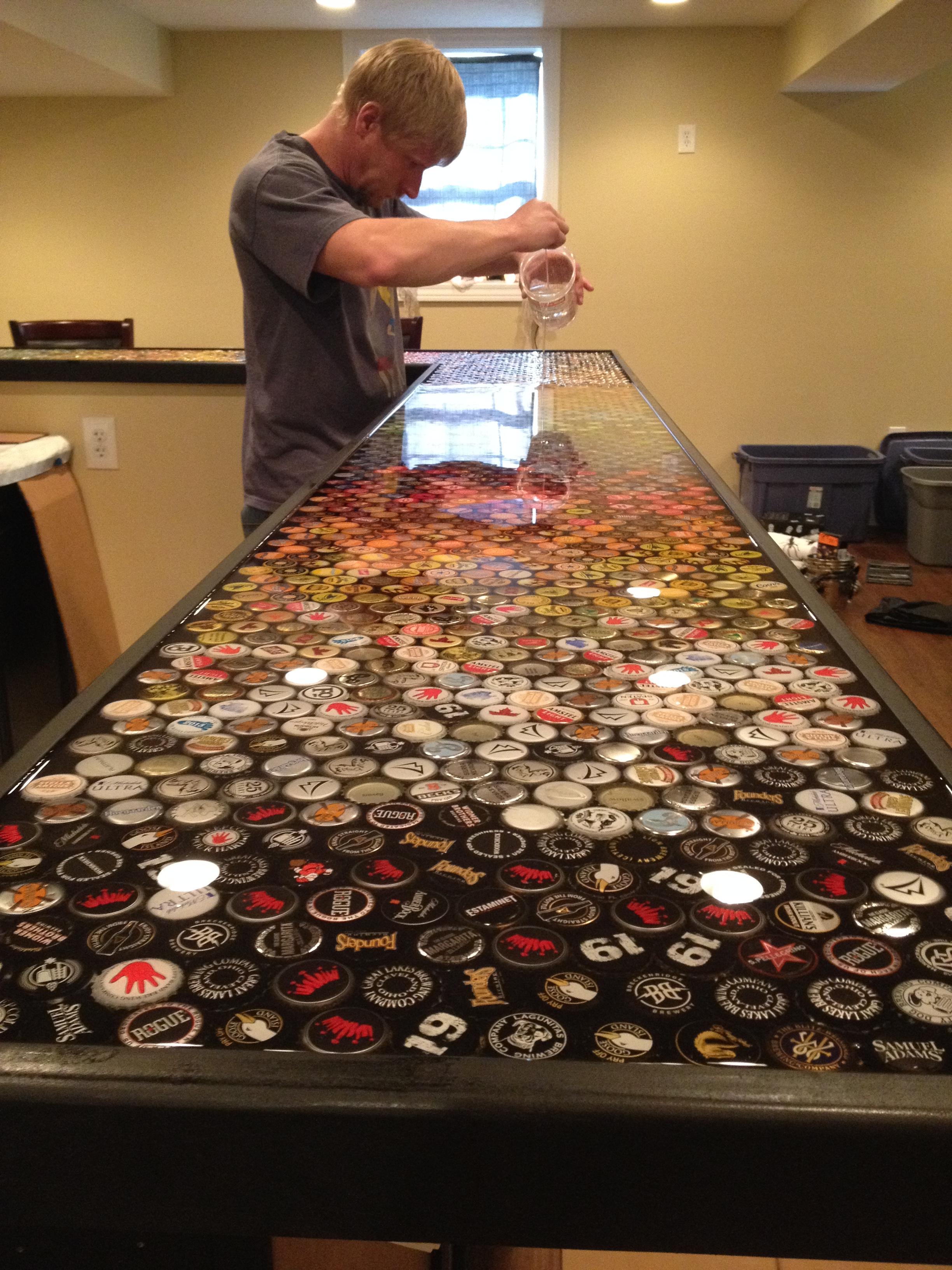 Que se puede hacer con tapitas de cerveza