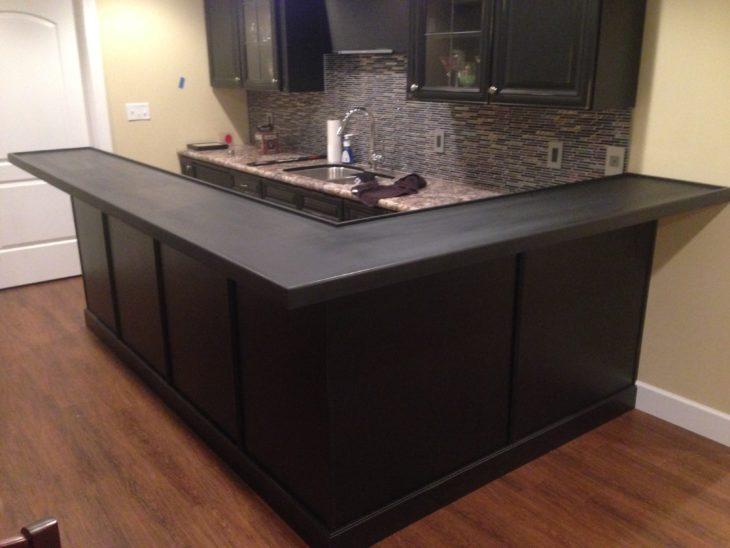 pintura café mueble cocina