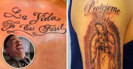 Cover los peores tatuajes que verás en tu vida