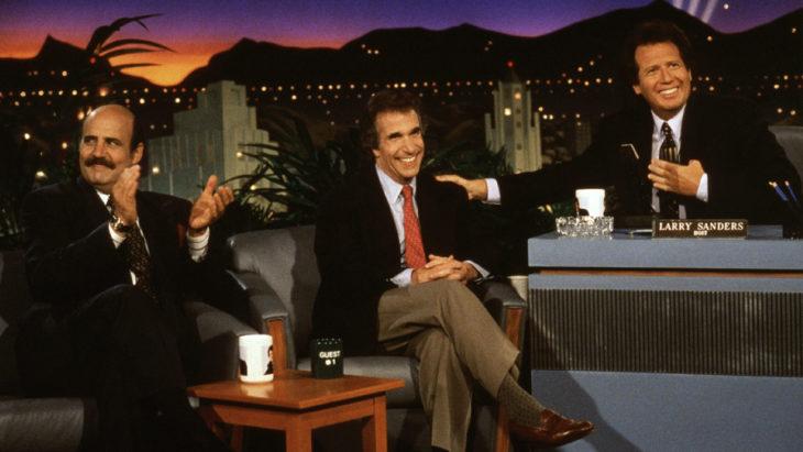 The Larry Sanders Show sitcom de los años 90
