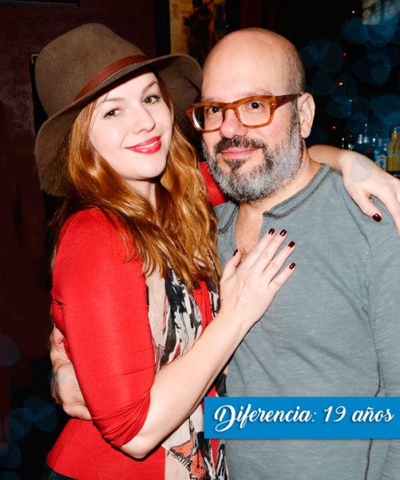 Amber y David