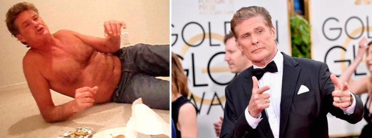 David antes y ahora