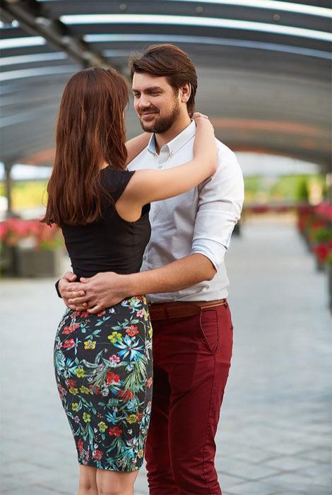 abrazo bailar