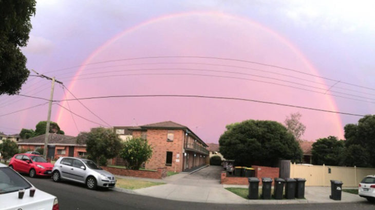Australia cielo hermoso