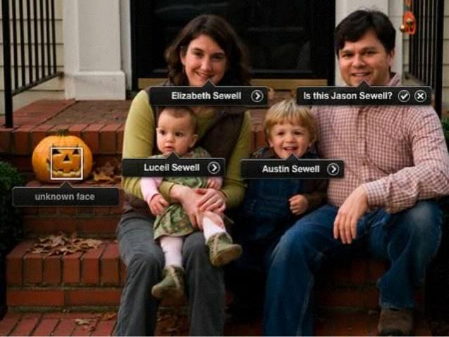 Reconoce cara de calabaza de halloween