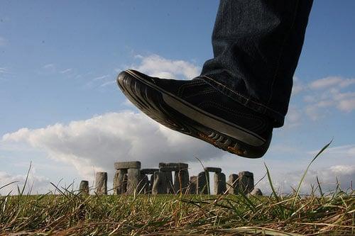 Fotografía perspectiva ruinas