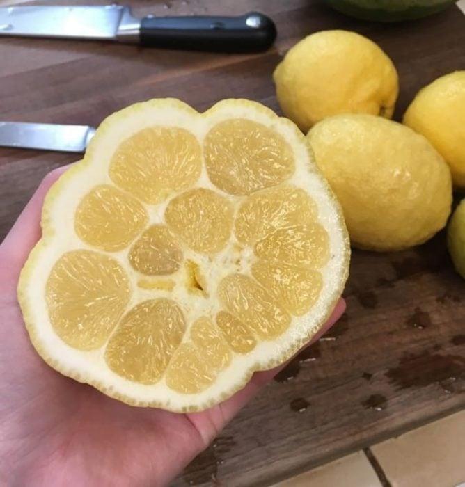 Naranja extraña