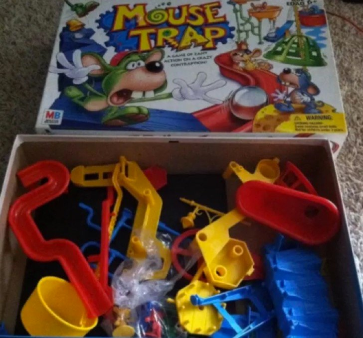 Trampa de ratones juguetes raros