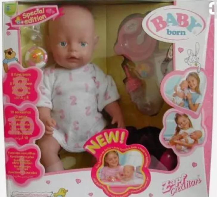 Muñeco que comía juguetes infancia