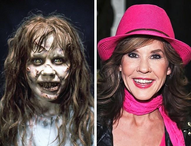 Antes y después niños películas de terror Linda Exorcista