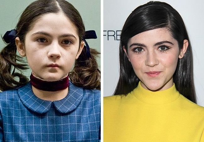 Antes y después niños películas de terror La huérfana