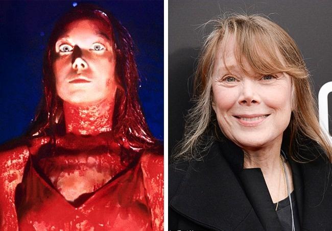 Antes y después niños películas de terror Carrie