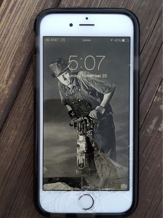 pantalla quebrada fondo gracioso