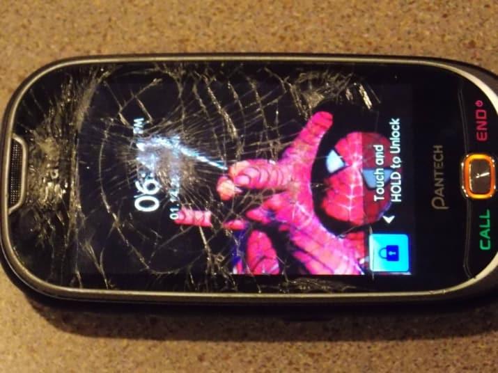 spiderman fondo pantalla quebrada