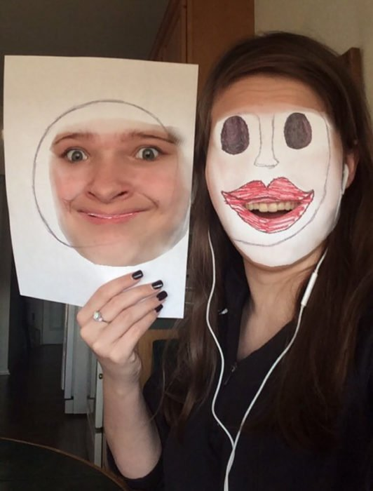 Face swap dibujo
