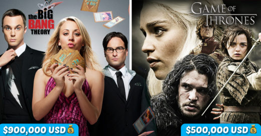 Cover los extravagantes salarios de tus personajes favoritos de tv