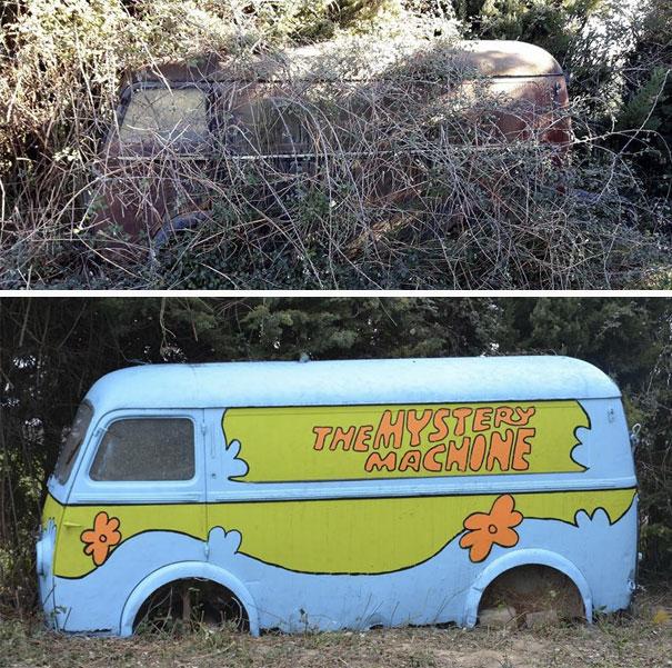 la camioneta de scooby doo