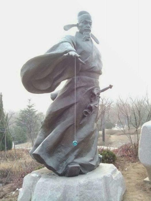 yoyo estatua
