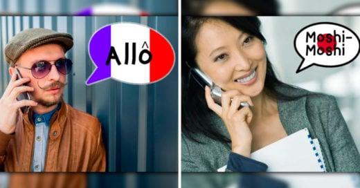 Cover formas de contestar el teléfono en otros países