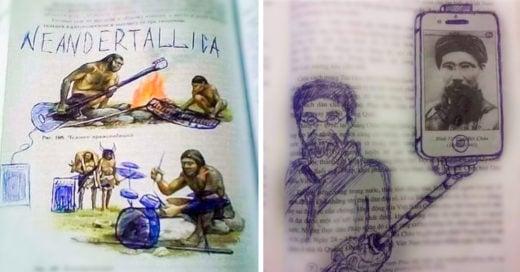 Cover Obras de arte maestras encontradas en los libros de clase