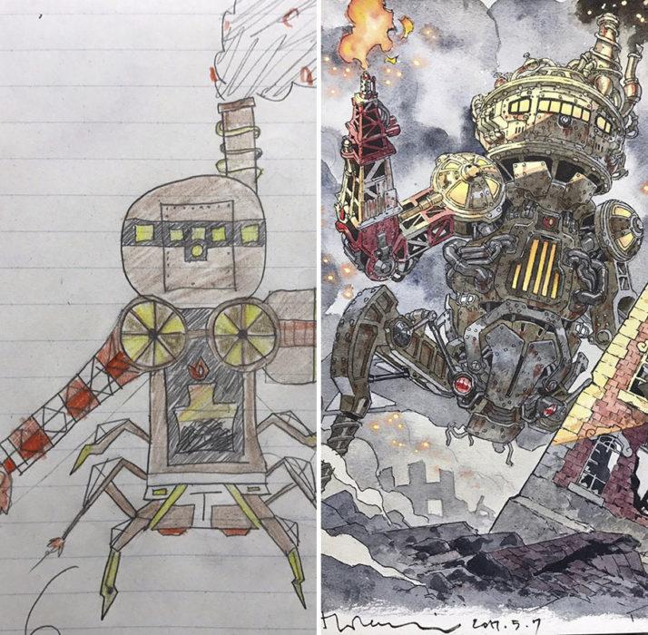 Maquina de guerra Steampunk