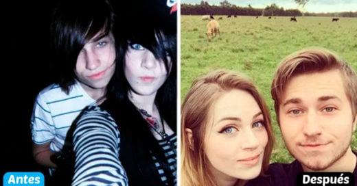 Cover Antes y después; personas muestran su pasado en fotografías