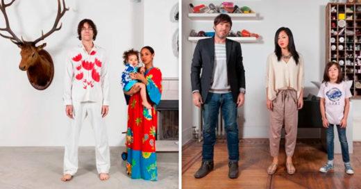 Cover Fotografías muestran la belleza de la mezcla de razas en las familias