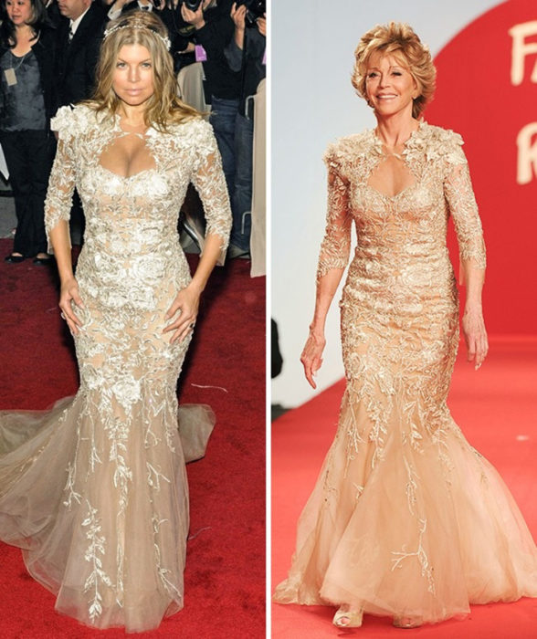 10. Fergie vs. Jane Fonda