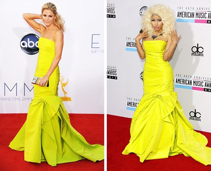 Julie Bowen vs. Nicki Minaj