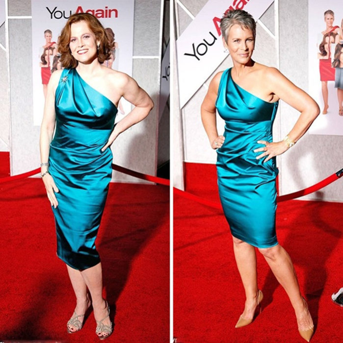 Sigourney Weaver vs. Jamie Lee Curtis