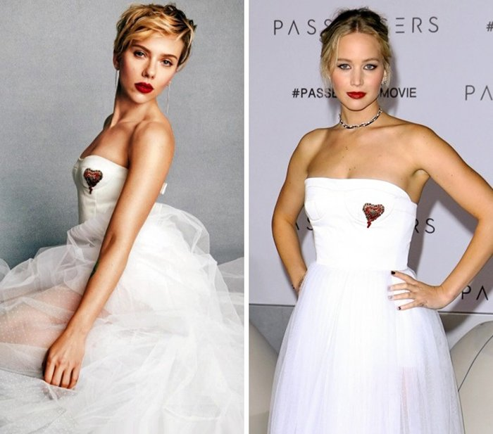 Scarlett Johansson vs. Jennifer Lawrence