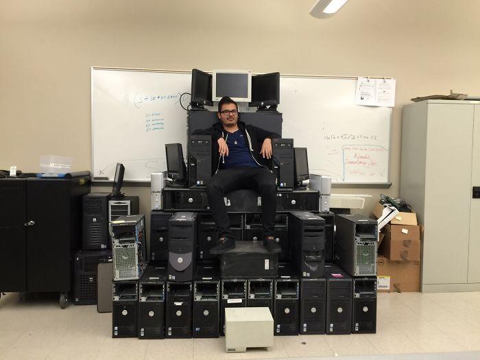 soy el rey de la oficina
