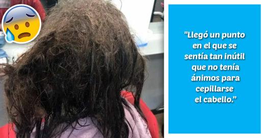 Cover Niña con depresión no se cepilla el cabello