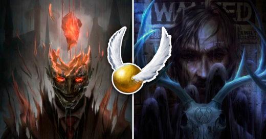 Cover Artista recrea posters de las películas de Harry Potter de manera terrorífica