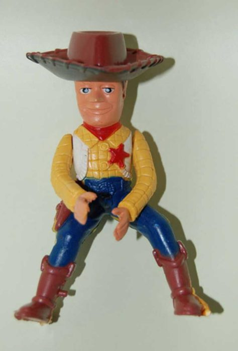 horrible replica de woody
