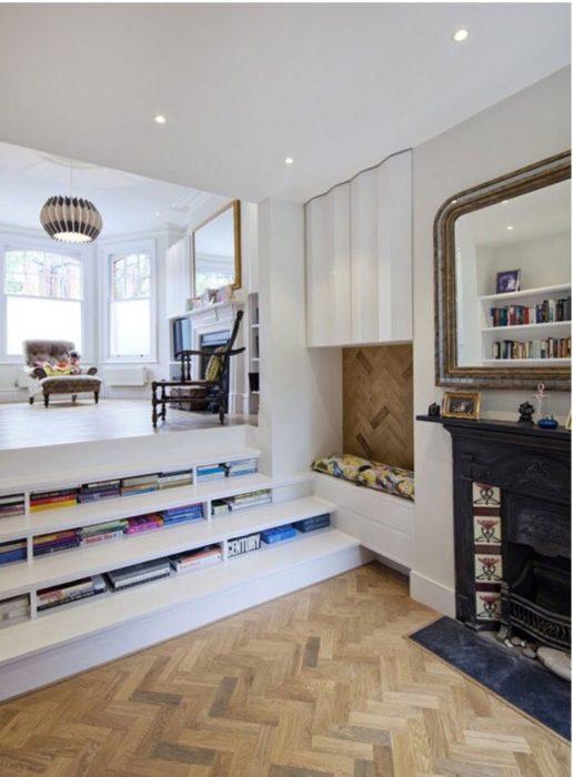 librero piso