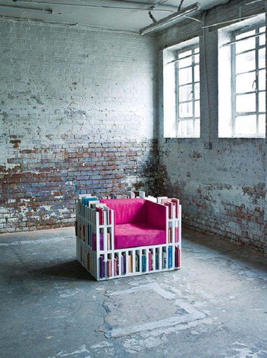 librero sillón
