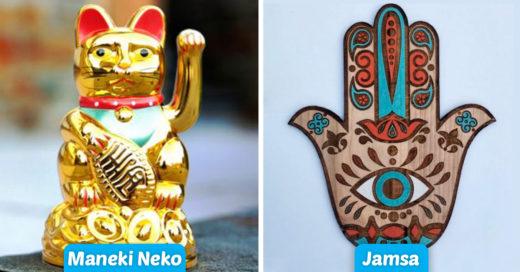 Cover Los amuletos de la suerte más utilizados del mundo