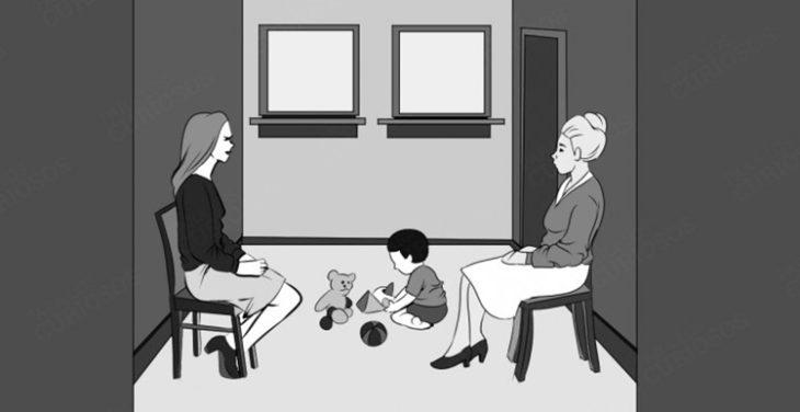 Test: ¿cuál de estas mujeres es la madre del niño?