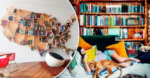 Cover Formas de integrar un precioso librero en tu hogar